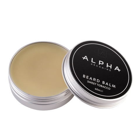 Alpha Grooming Sweet Tobacco Beard Balm
