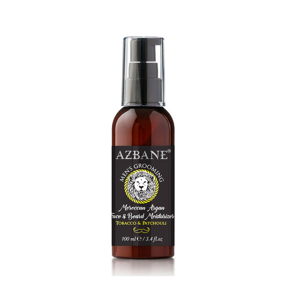 Azbane Face and Beard Moisturiser Tobacco and Patchouli