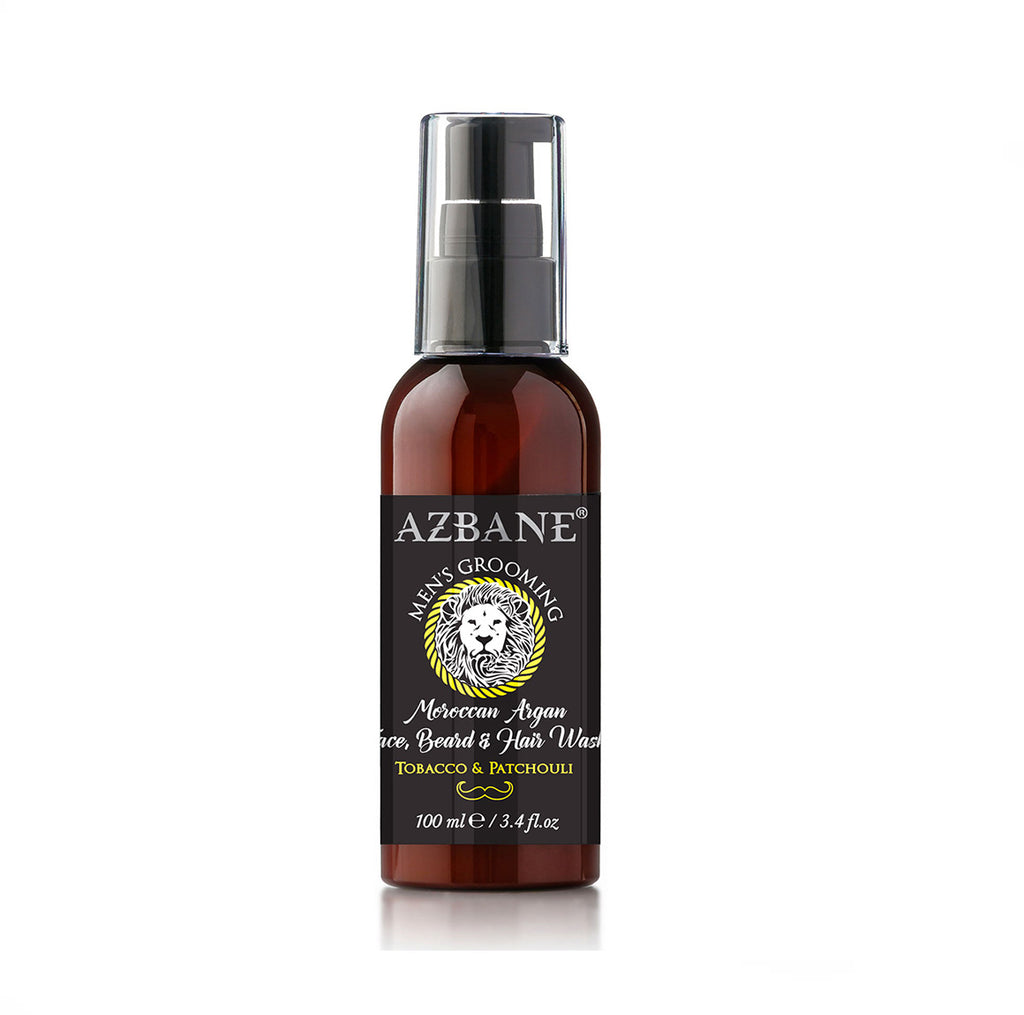 Azbane Tobacco and Patchouli Beard and Hair Wash