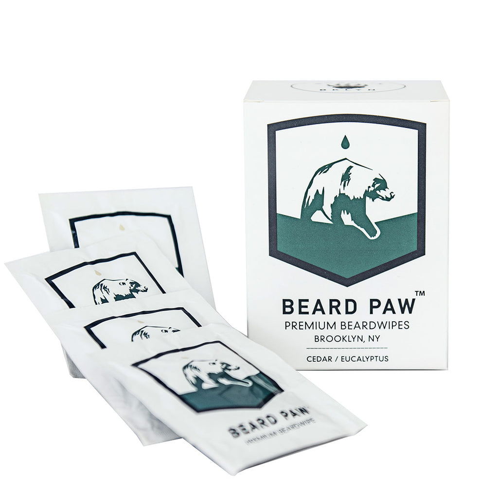 Beard Paw Beard Wipes