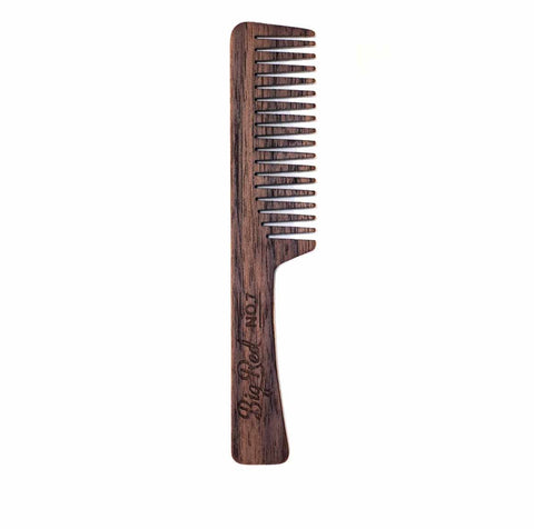 Big Red No.7 Beard Comb Walnut