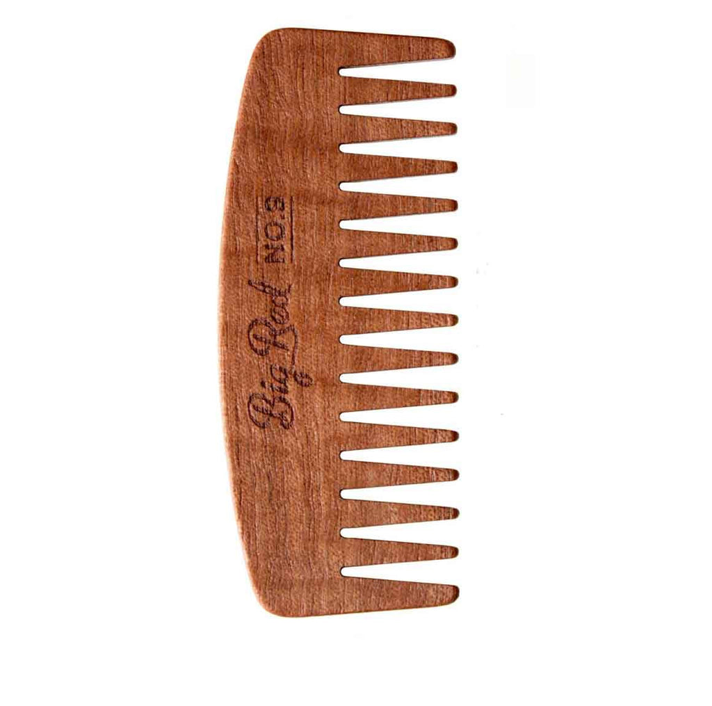 no.9 big red beard comb cherry