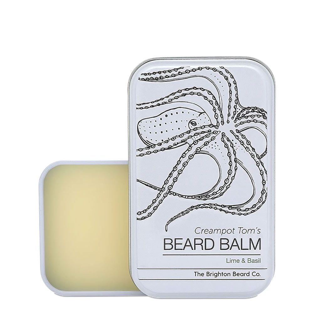 The Brighton Beard Company - Creampot Tom's Lime & Basil Beard Balm
