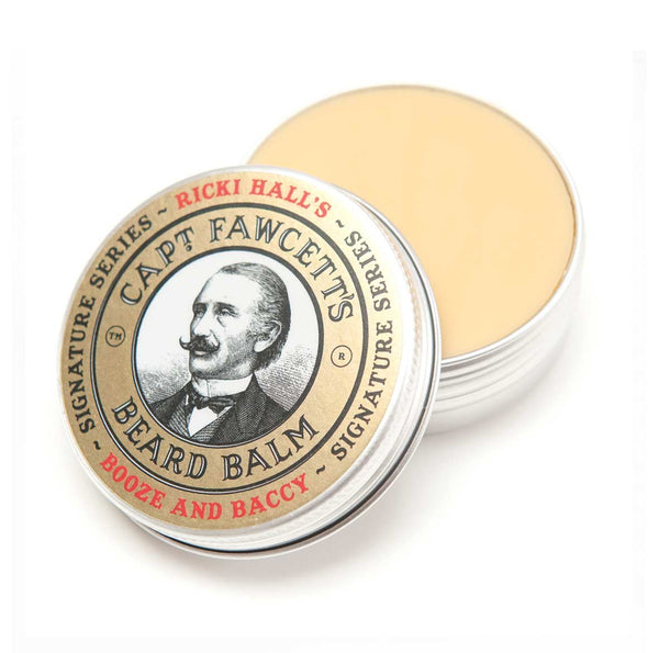 Captain Fawcett Ricky Hall Booze and Baccy Beard Balm