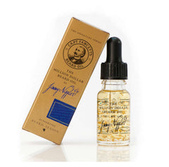 gold flake beard oil