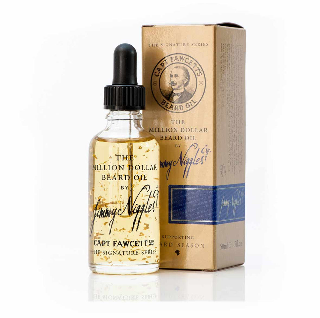 Captain Fawcett Jimmy Niggles Esq The Million Dollar Beard Oil