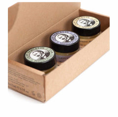 Captain Fawcett - Moustache Wax Cornucopia (3 X 15ml Jars)