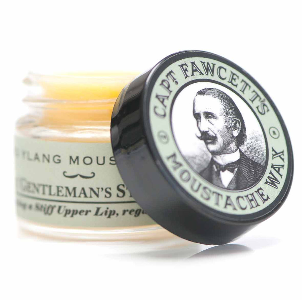 Captain Fawcett - Ylang Ylang Moustache Wax (15ml)