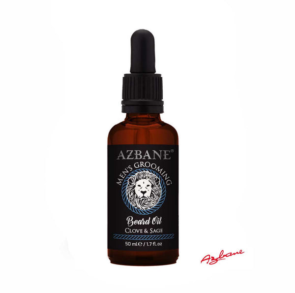 Azbane Clove and Sage Moroccan Argan Beard Oil