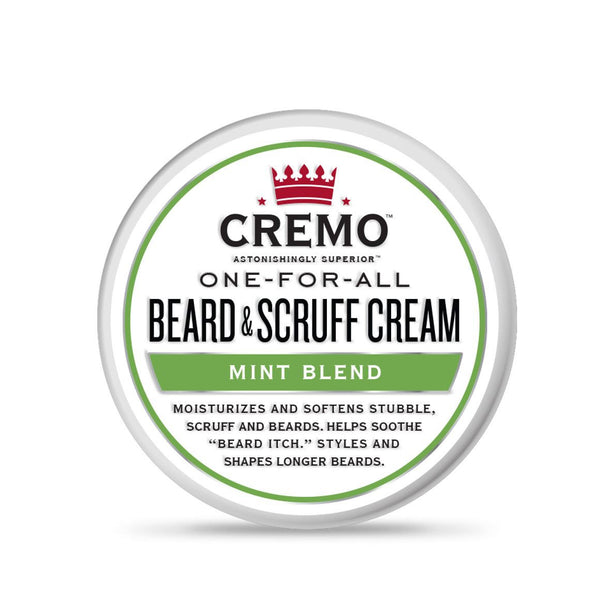 Cremo Mint Blend Beard and Scruff Cream