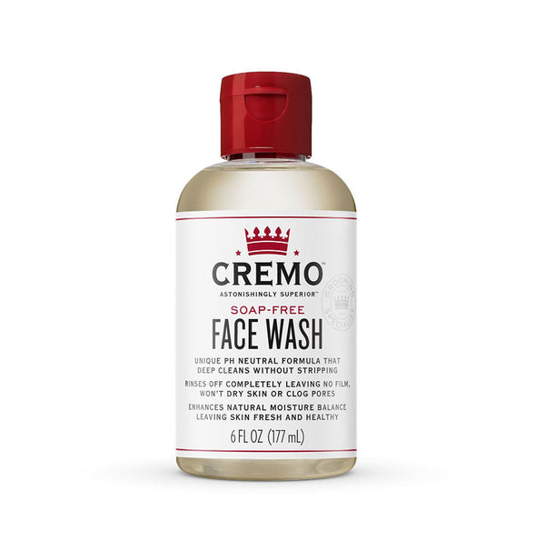 Cremo Face Wash Soap Free