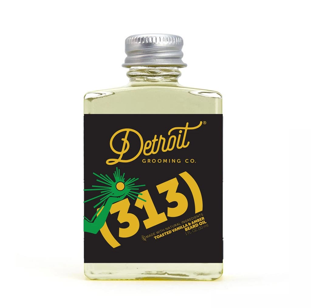 Detroit Grooming Co 313 Beard Oil