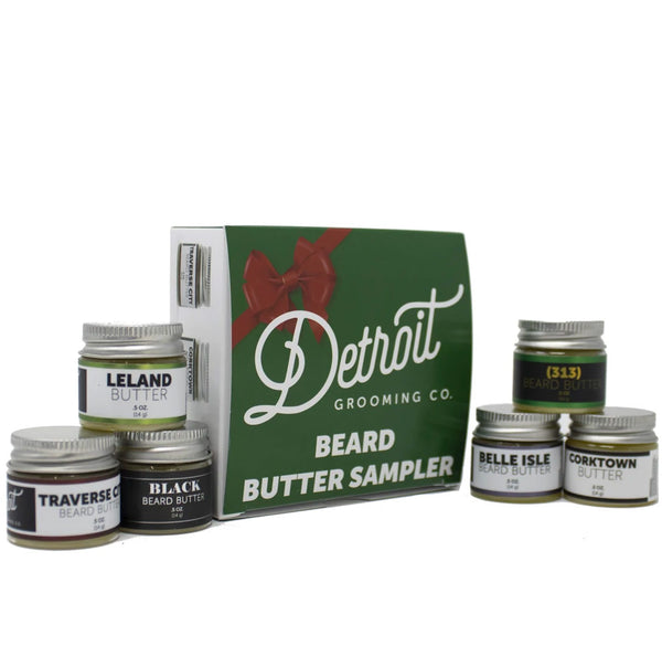 Detroit Grooming Co Beard Butter Sampler Pack
