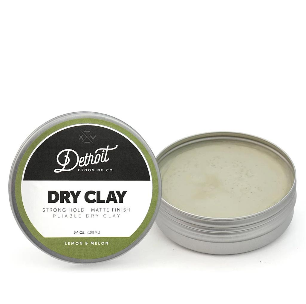 Detroit Grooming Co Dry Clay