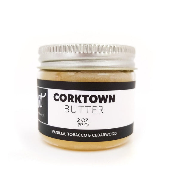 Detroit Grooming Corktown Beard Butter Vanillia Tobacco and Cedarwood