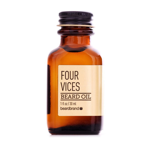 Beardbrand Beard Oil Four Vices