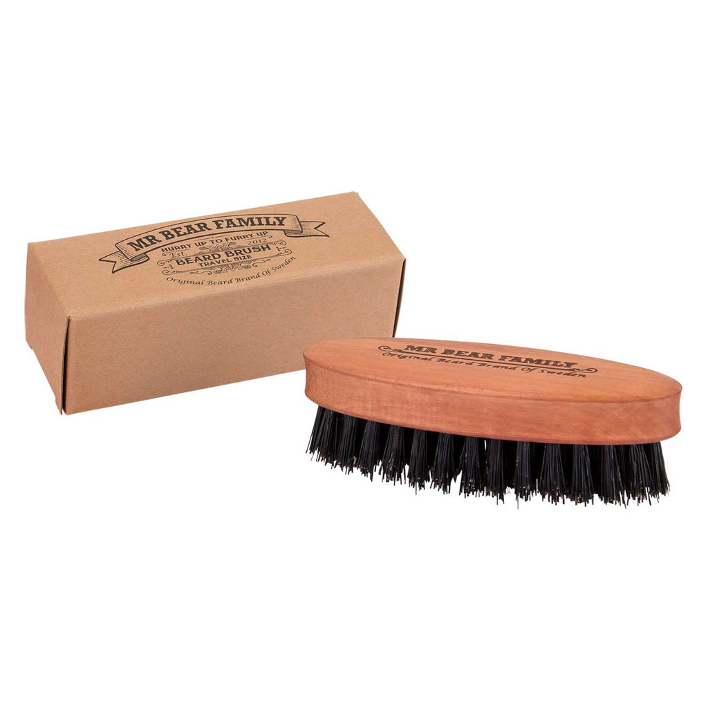 Mr Bear Family, Beard Brush - Travel Size