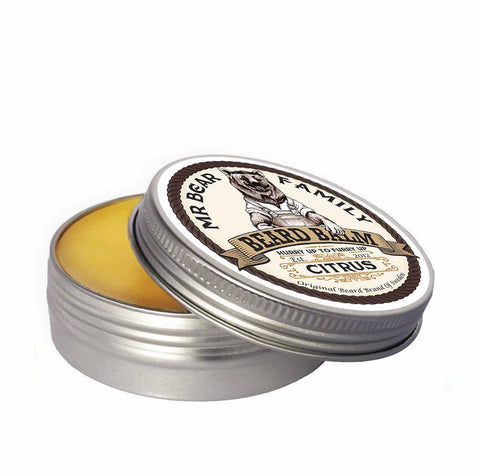 Mr Bear Family citrus Beard Balm