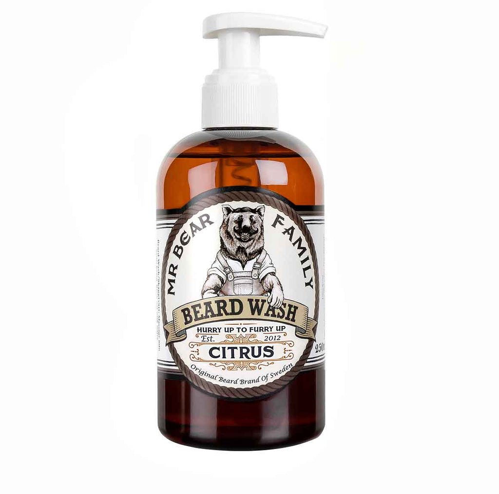 Mr Beard Family Citrus Beard Wash