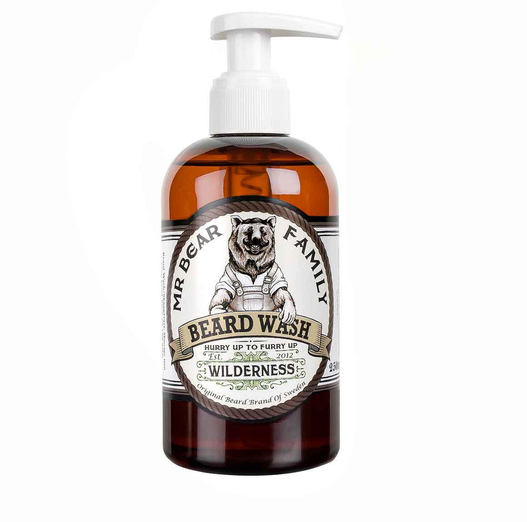 Mr Bear Family Wilderness Beard Wash
