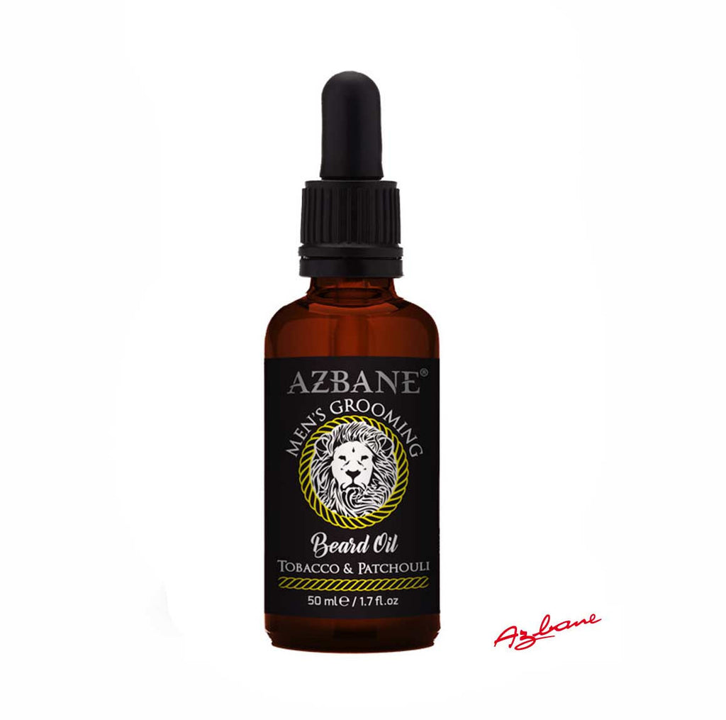 Azbane Tabacco and Patchouli Moroccan Argan Beard Oil