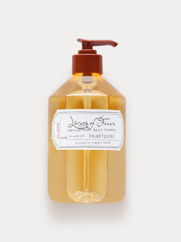 Library of Flowers Honeycomb Shower Gel