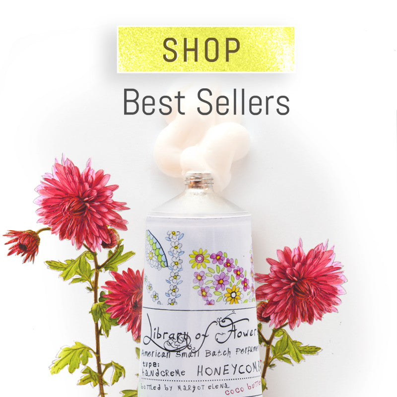 Library of Flowers Best Sellers