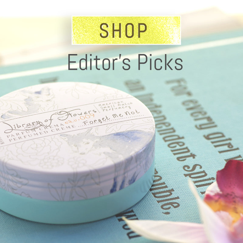 Library of Flowers Gifts Editor's Picks