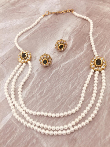 Pearl long chain set