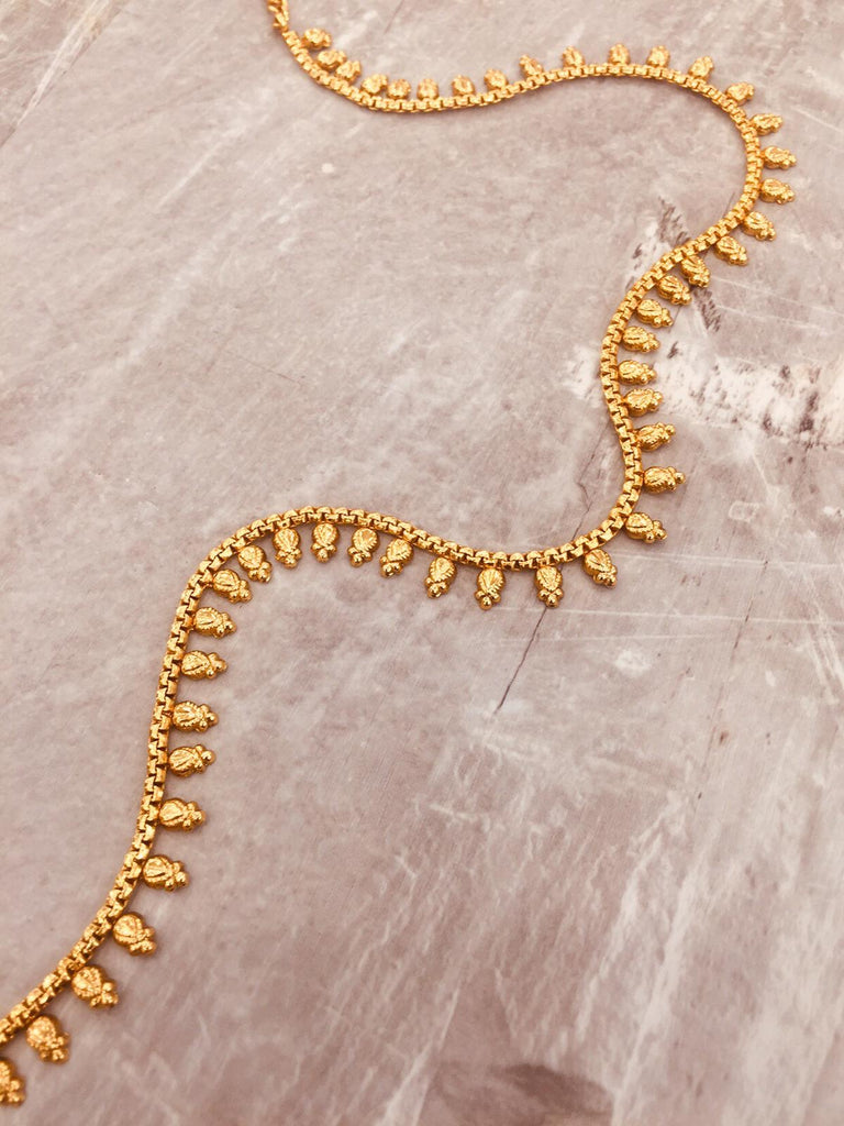 Antique waist chain