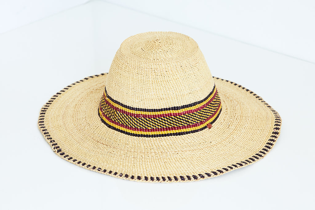 African Straw Hat - GSH6150218