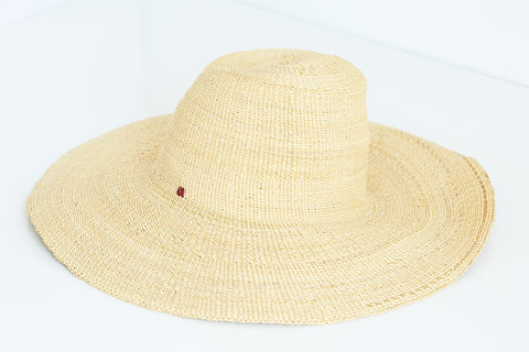 African Straw Hat - GSH6150318
