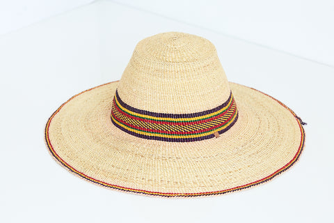 African Straw Hat - GSH6150118