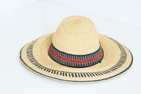 African Straw Hat - GSH6150418