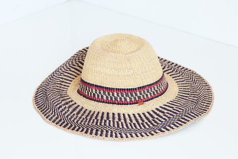 African Straw Hat - GSH6150518