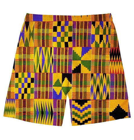 African Men's Swim Trunk