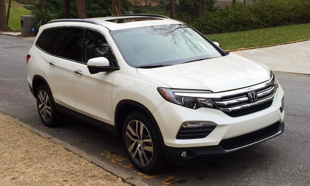 2016 Honda Pilot Road Noise and B-Quiet Automotive Sound Deadening