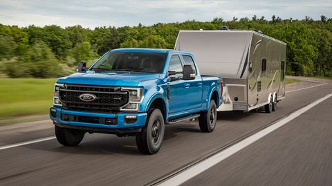 Ford pickup truck and B-Quiet Automotive Sound Deadening