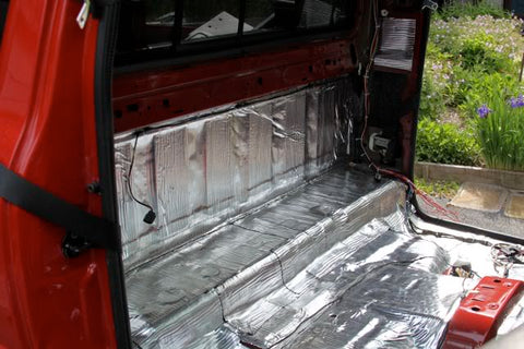 Sound Deadening a Truck with B-Quiet Ultimate