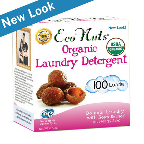 Soap Nuts Organic Laundry Detergent (100 loads)