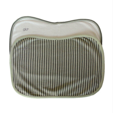 Organic Cotton Classic Stripe Burp Cloth Set