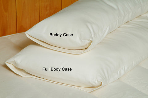 "Eco-Wool Body Pillows - Full and ""Buddy"" Sizes"