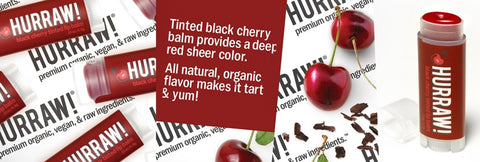 Black Cherry Naturally Tinted Lip Balm