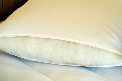 Eco-Wool Wrapped Latex Pillow