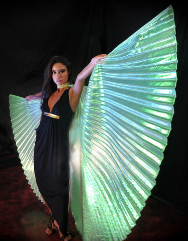 Opal Green Wings