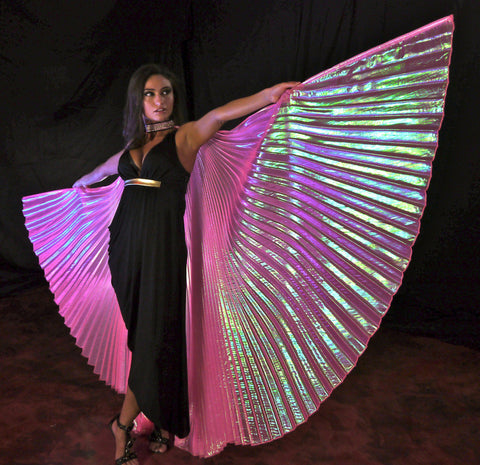 Opal Hot Pink Wings