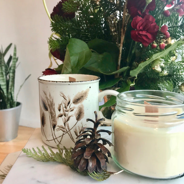 DIY Holiday Gifts: Aromatherapy Candles by Cassandra Bradshaw