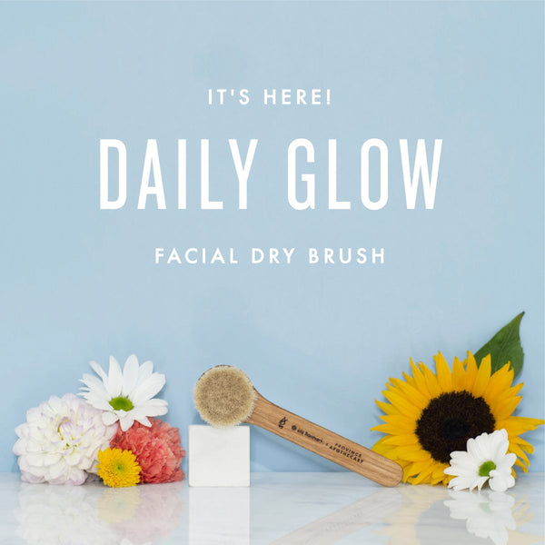 Introducing our NEW Daily Glow Facial Dry Brush