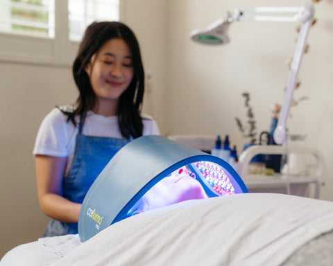 Introducing the Luminous Light Therapy Facial
