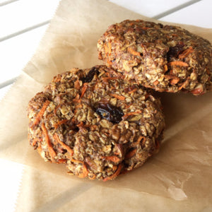LH Carrot Cake Breakfast Cookie - Four